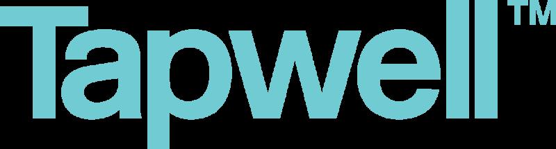 Tapwell Logo ilmantaustaa